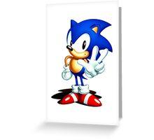 Sonic 3 Greeting Card