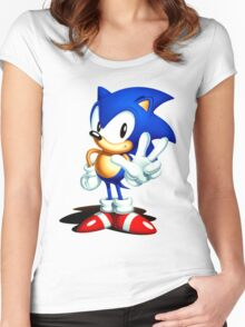 Sonic 3 Women's Fitted Scoop T-Shirt