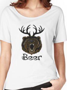 Bear Deer Beer Women's Relaxed Fit T-Shirt