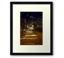Forest Mystery Framed Print