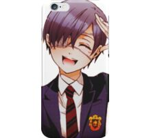 ciel with a salute and smile iPhone Case/Skin