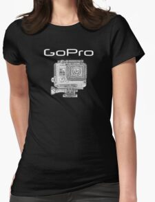 GOPRO Digital Sports Camera Womens Fitted T-Shirt