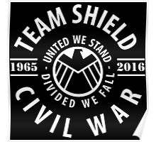 TEAM SHIELD - FIRST APPEARANCE TO MOVIE Poster