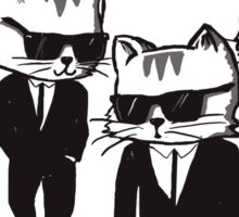 Reservoir cats Sticker