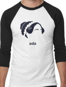 Ada Lovelace (Hirsute History) Men's Baseball ¾ T-Shirt