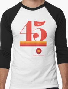 45rpm Men's Baseball ¾ T-Shirt