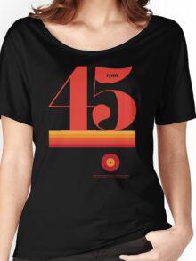 45rpm Women's Relaxed Fit T-Shirt
