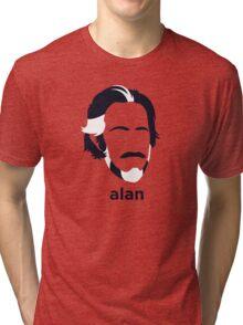 Alan Watts (Hirsute History) Tri-blend T-Shirt
