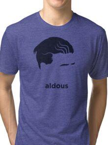 Aldous Huxley (Hirsute History) Tri-blend T-Shirt