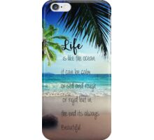 Life is a Beach iPhone Case/Skin