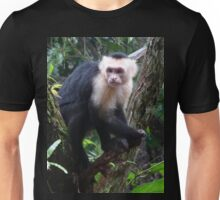 Capuchin Monkey from Costa Rica Unisex T-Shirt