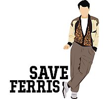 Save Ferris - Ferris Bueller's Day Off Photographic Print
