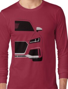 Coupe Front-end Long Sleeve T-Shirt