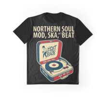 Northern Soul, Mod, Ska, 60s Beat  Graphic T-Shirt