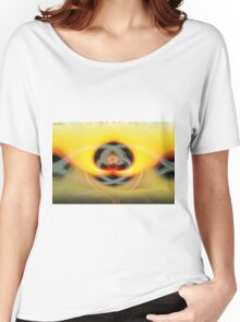 Abstract sunset Women's Relaxed Fit T-Shirt