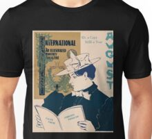 Artist Posters International an illustrated monthly magazine August 0699 Unisex T-Shirt