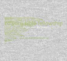 Calvary Bible Fellowship Logo Design One Piece - Long Sleeve