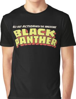 Black Panther - Classic Title - Clean Graphic T-Shirt