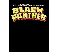 Black Panther - Classic Title - Clean Photographic Print