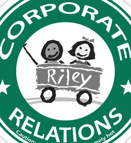 corporate relations  Sticker