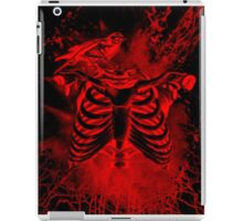 Free from inside-Black & red iPad Case/Skin