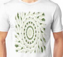 Green White Kaleidoscope Art 11 Unisex T-Shirt