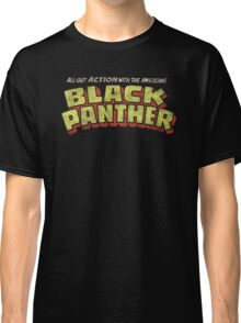 Black Panther - Classic Title - Dirty Classic T-Shirt