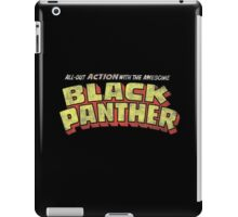 Black Panther - Classic Title - Dirty iPad Case/Skin