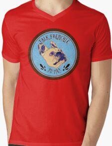 FRENCHIE!! Mens V-Neck T-Shirt
