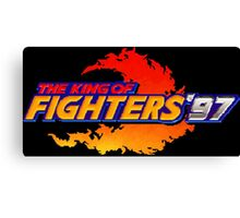 The King of Fighters '97 (Neo Geo Title Screen) Canvas Print