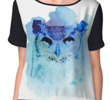 Owl be back Chiffon Top