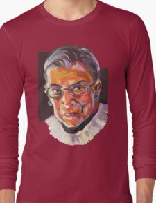 Supreme Court Justice Ruth Bader Ginsburg Long Sleeve T-Shirt
