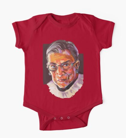 Supreme Court Justice Ruth Bader Ginsburg One Piece - Short Sleeve