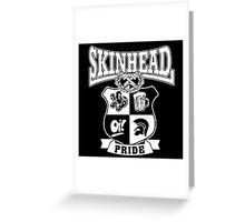 Skinhead Pride Greeting Card