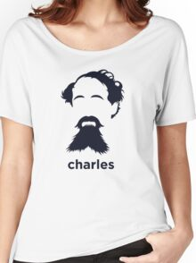 Charles Dickens (Hirsute History) Women's Relaxed Fit T-Shirt