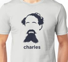 Charles Dickens (Hirsute History) Unisex T-Shirt