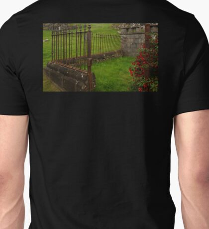 The Leaning Fence Unisex T-Shirt