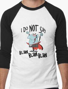 Funny Vampire I Do Not Say Blah Blah Blah Men's Baseball ¾ T-Shirt