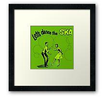 Let's Dance Ska Framed Print