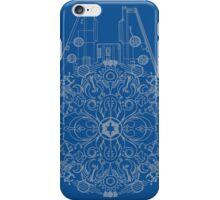Millennium Falcon kaleidoscope iPhone Case/Skin