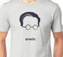 Erwin Schrodinger (Hirsute History) Unisex T-Shirt