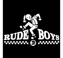 Skankin' Rude Boy Photographic Print