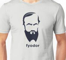 Fyodor Dostoevsky (Hirsute History) Unisex T-Shirt