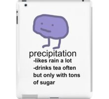 Precipitation iPad Case/Skin