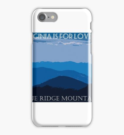 Vintage Style Travel Poster iPhone Case/Skin