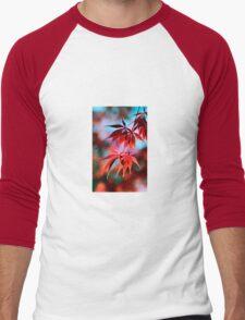 Japanese Red Maple Men's Baseball ¾ T-Shirt