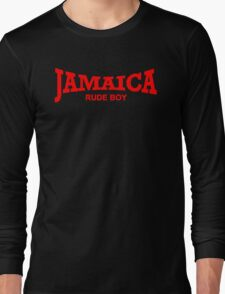 Jamaica Rude Boy Long Sleeve T-Shirt