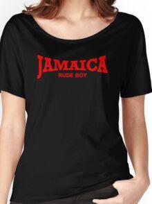Jamaica Rude Boy Women's Relaxed Fit T-Shirt