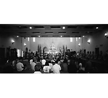 The Sangha At Prayer Photographic Print
