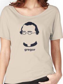 Gregor Mendel (Hirsute History) Women's Relaxed Fit T-Shirt